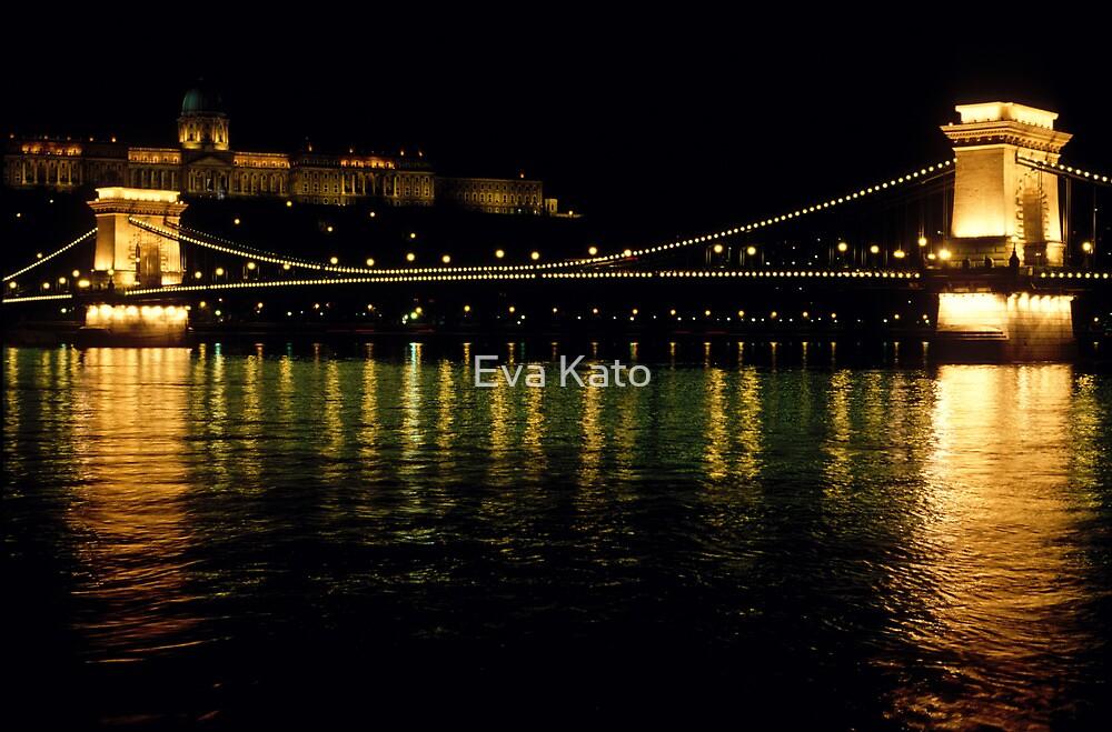 Chain Bridge Budapest by Eva Kato