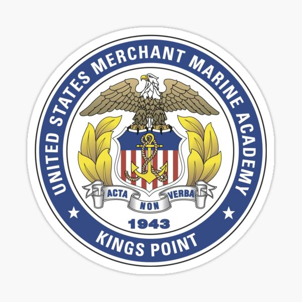 USMMA Seal Sticker