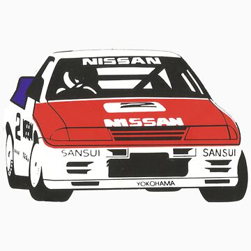 Nissan Skyline R32 GTR, Group A Race car - the original Godzilla. by whm001