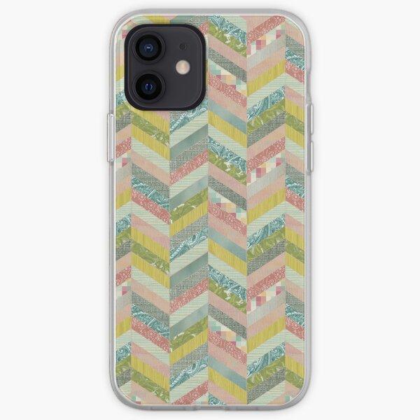 Chevron Herringbone Pattern iPhone Soft Case