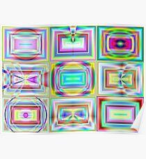 GIMP Digital TV Test Patterns (G0886) Poster