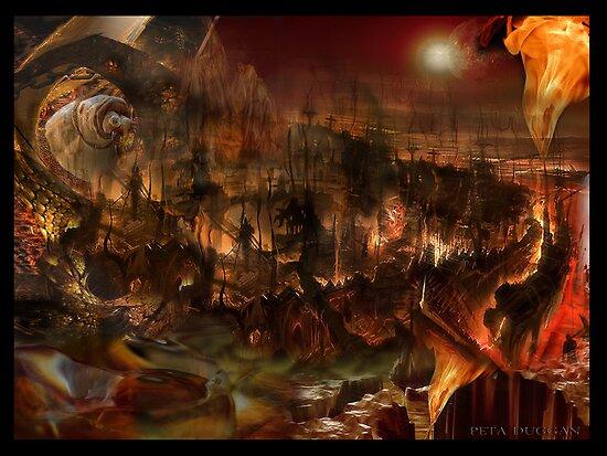 Godisnowhere 666 - Dantes Inferno extreme by Peta Duggan