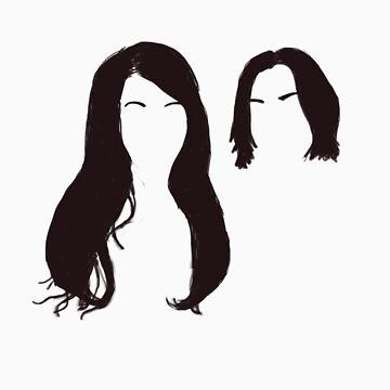 Jack and Meg Hair by ThreeQuid