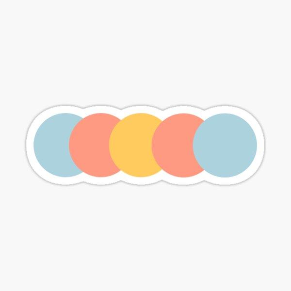 pansexual pride // subtle Sticker