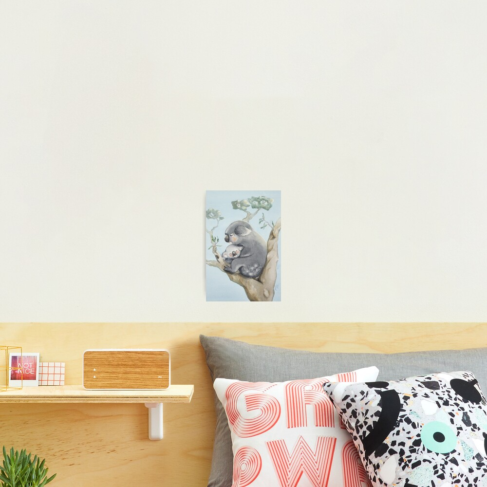 Koala Love Photographic Print