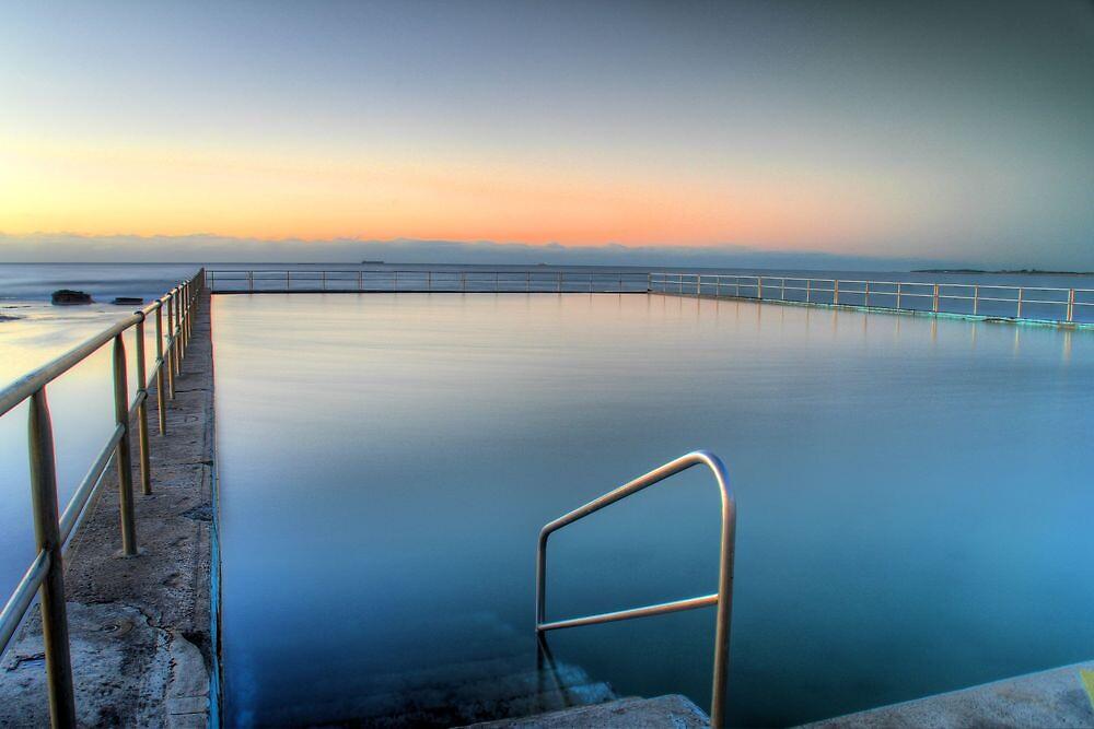 Bulli Pool Sunrise by Ben Curtin