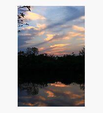 Hidden Mirror Lake, Lisle, IL Photographic Print