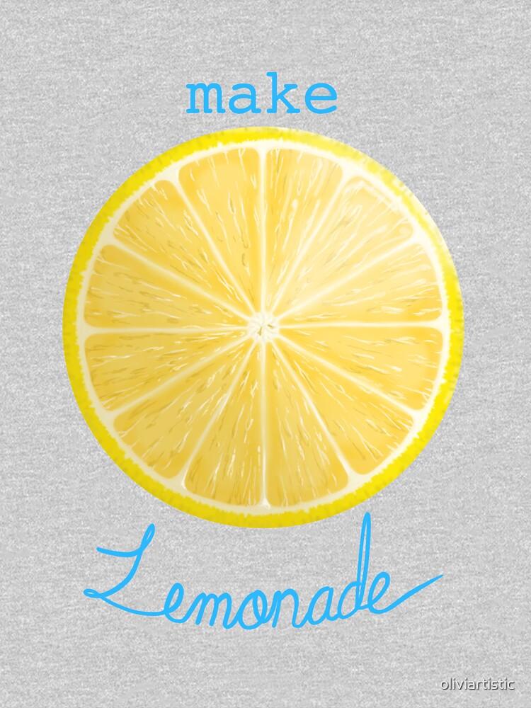 Wenn das Leben dir Zitronen gibt Hoodie von