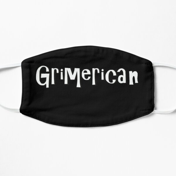 Grimerican (white/black) Mask