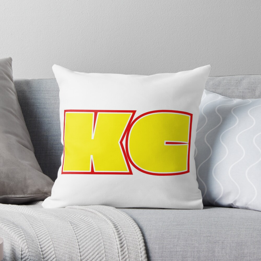 KC Throw Pillow