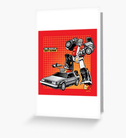 Marty McPrime (Print Version) Greeting Card