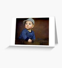 """"""" Parker , 7 months old """" Greeting Card"""