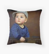 """ Parker , 7 months old "" Throw Pillow"