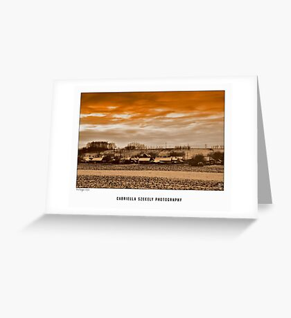 Village life Greeting Card