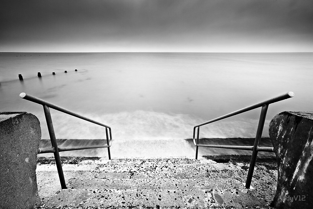 It's Decision Time BW by Andy Freer