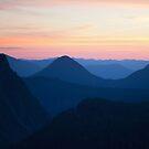 Sunset at Mount Rainier National Park by Olga Zvereva