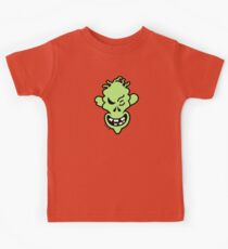 Naughty Halloween Zombie Kids Tee