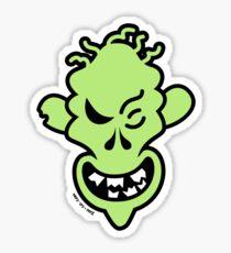 Naughty Halloween Zombie Sticker