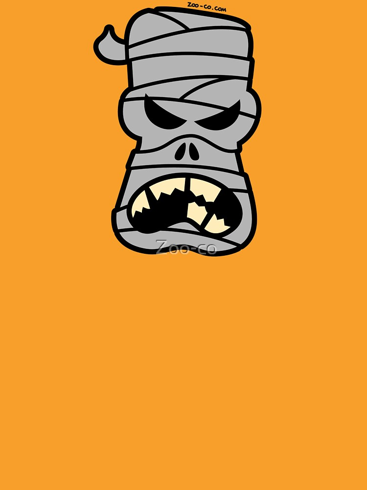 Angry Halloween Mummy by Zoo-co