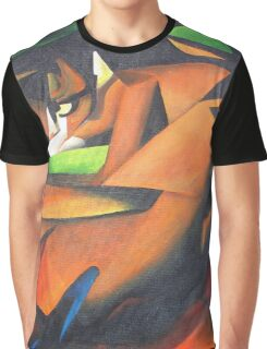 Tiger After Franz Marc Graphic T-Shirt