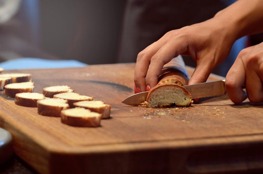 Slice of bread by lindalinda