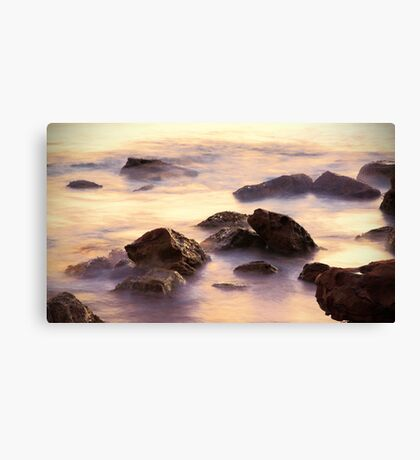 Sunrise Rocks Canvas Print