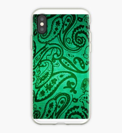 Whales & Waves (Green) iPhone Case