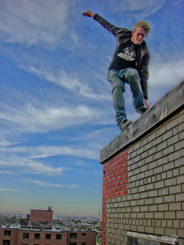 Skating Rooftop by alexela