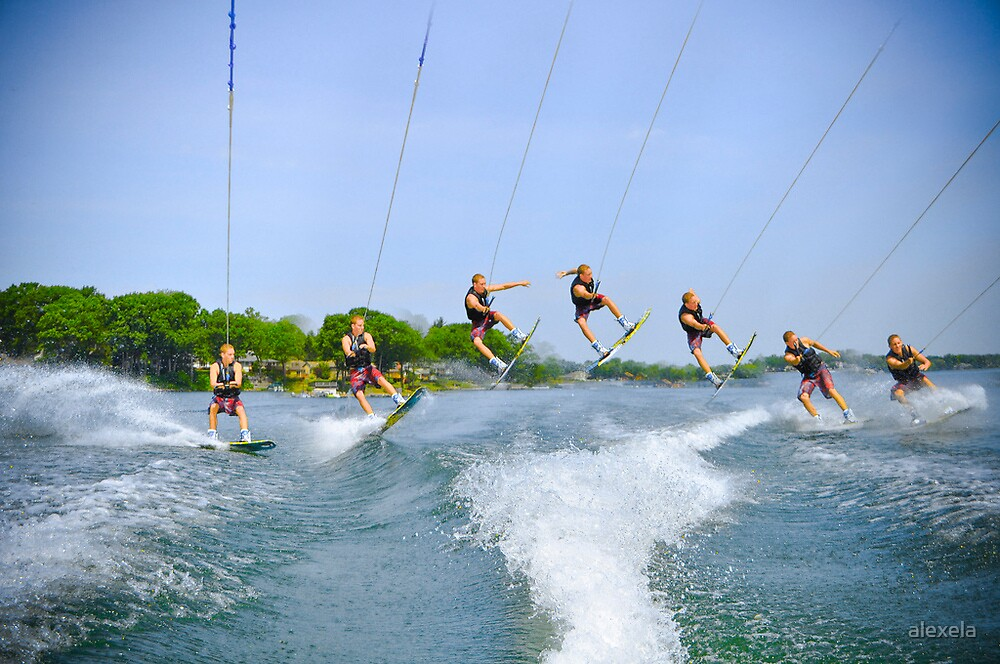 Wakeboarding Sequence by alexela