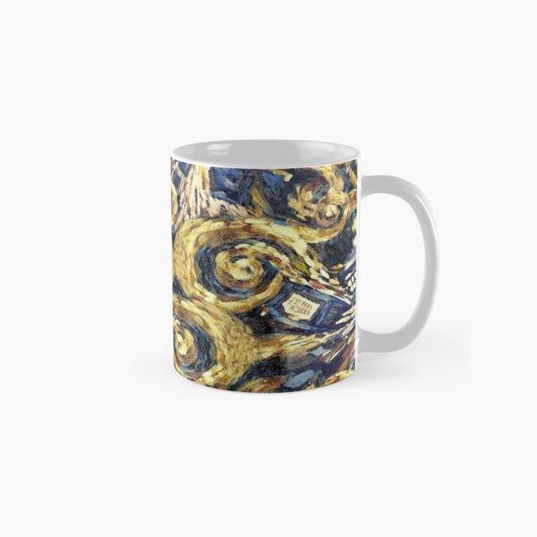 The Doctor Starry Night Police Box Classic Mug