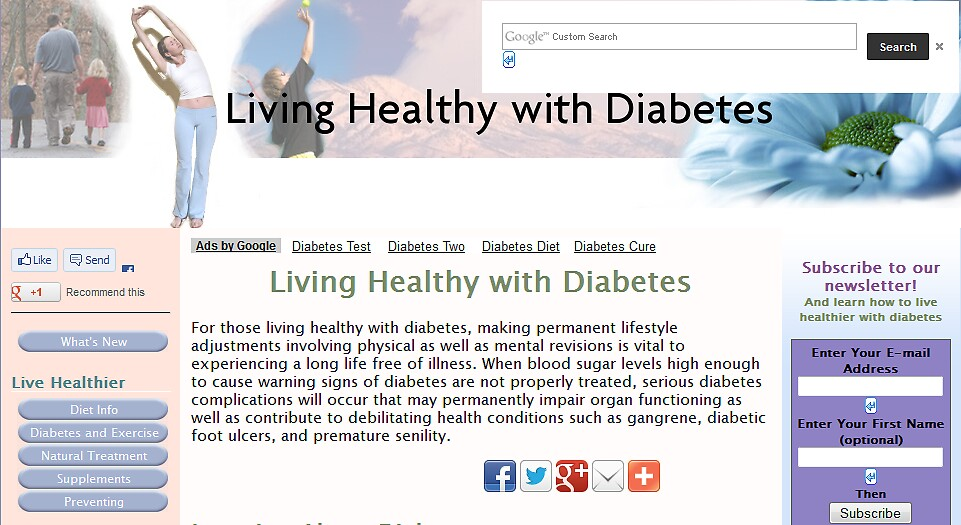 Diabetes and Diet by Saymond