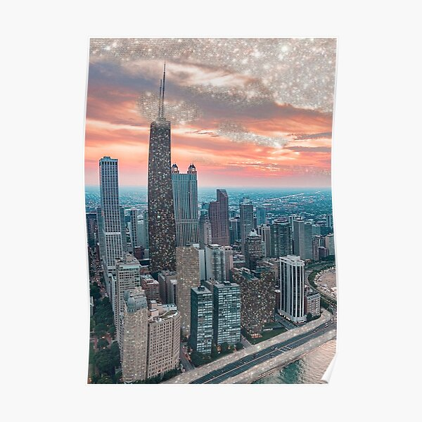 GLITTER CHICAGO Poster
