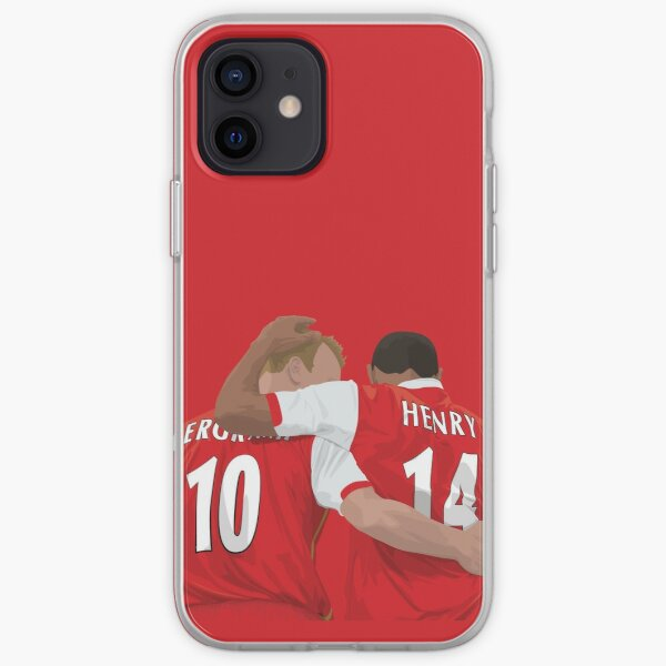 Thierry Henry & Dennis Bergkamp iPhone Soft Case