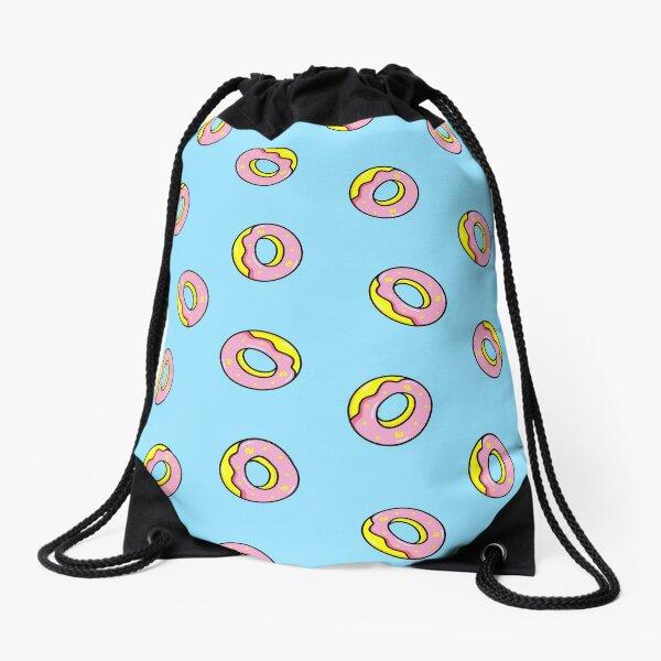 Donuts Blue Turnbeutel
