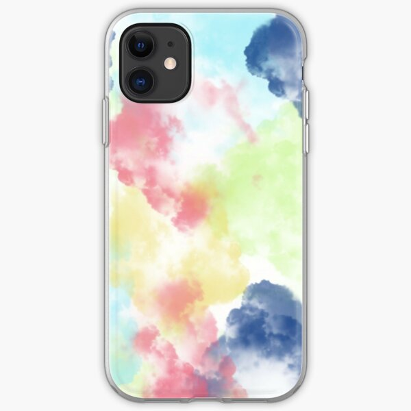 Colorful Clouds iPhone Soft Case
