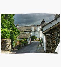 Hawkshead....Vicarage Lane Poster