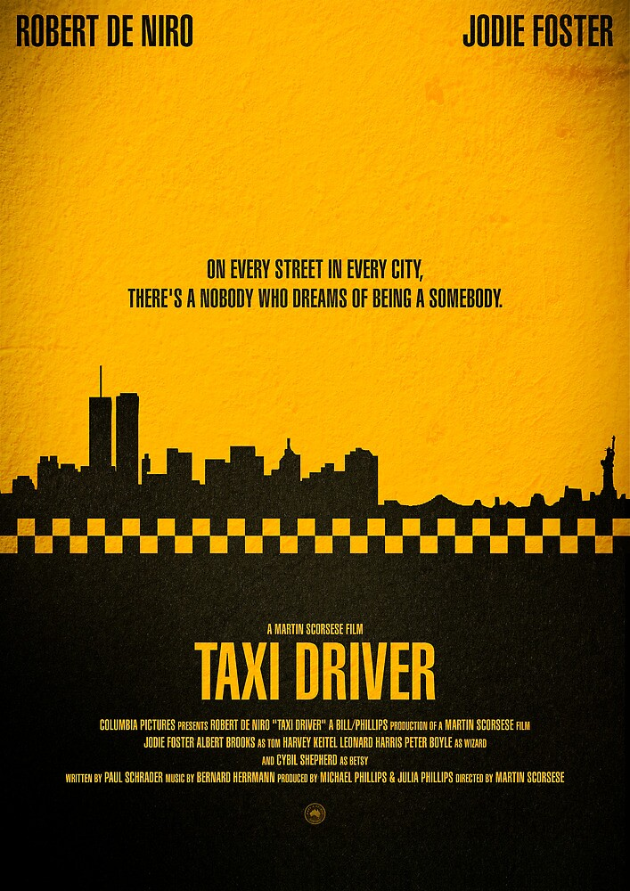 "Movie Poster - ""TAXI DRIVER"" by Mark Hyland"