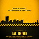 """Movie Poster - """"TAXI DRIVER"""" by Mark Hyland"""