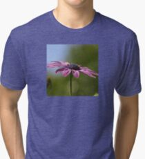 Macro Shot Of A Purple Osteospermum  Tri-blend T-Shirt