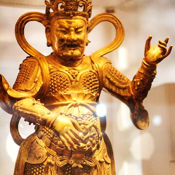 Chinese Buddhist Heavenly King by davidmcbride