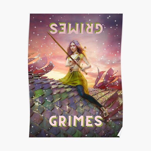 Grimes Dragon Poster Poster