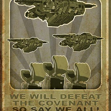 Halo Propaganda by plopezjr