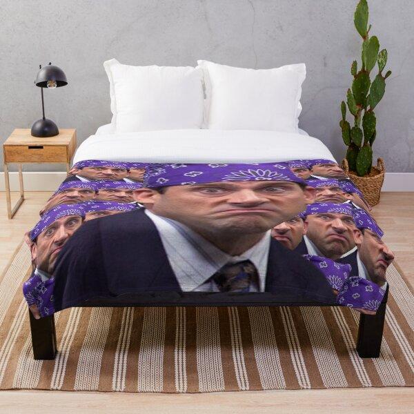 Prison mike multiplied Throw Blanket