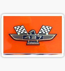 427 Automotive Graphic Shirt Sticker