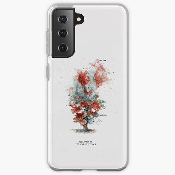 Carte de l'âme: Tracklist Cards Coque souple Samsung Galaxy