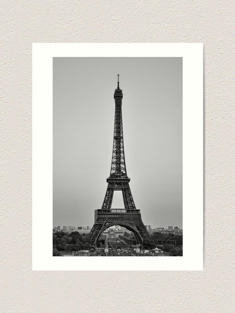 Alternate view of The Eiffel tower Art Print