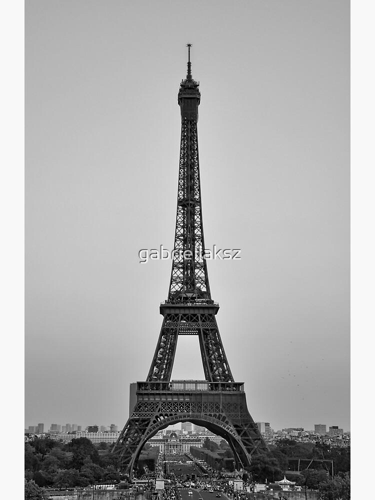 The Eiffel tower by gabriellaksz