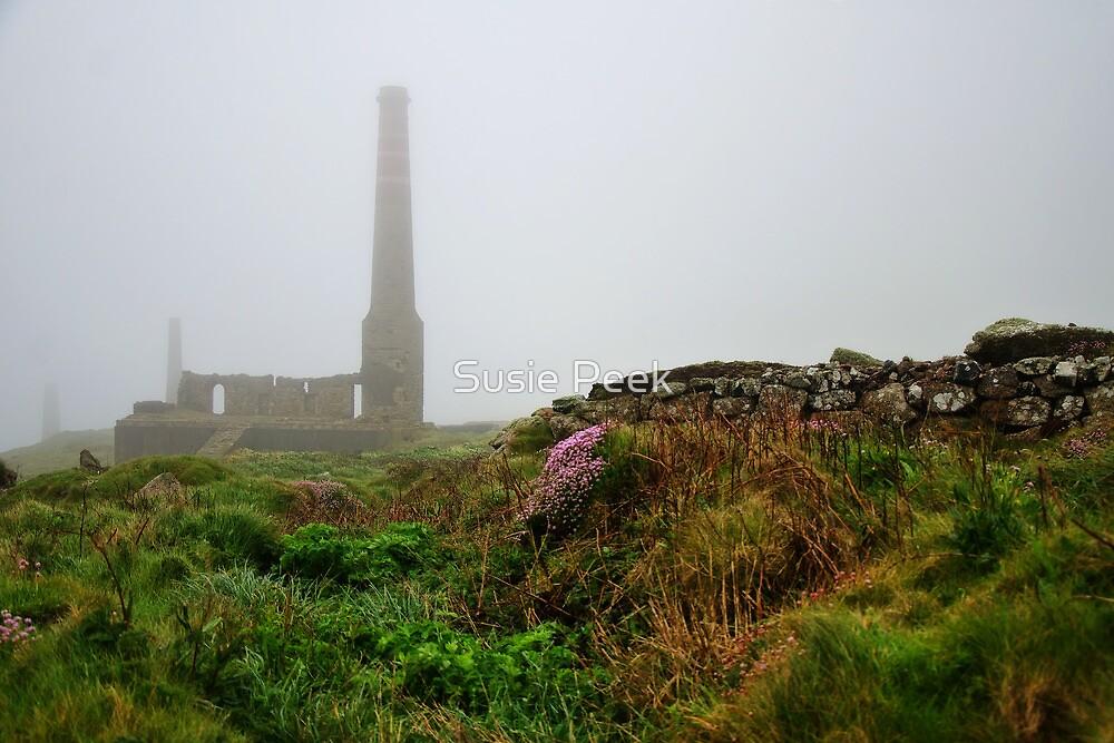 Moody Cornwall ~ Levant Mine by Susie Peek