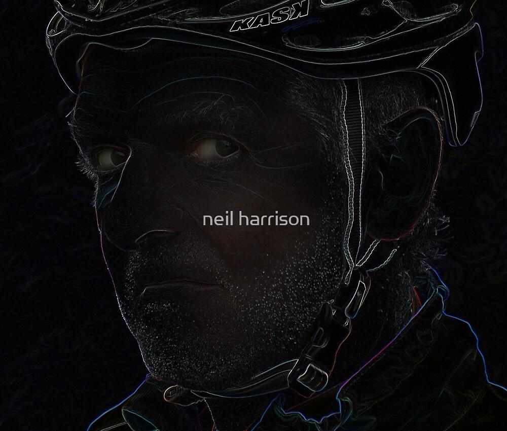 tough cyclist by neil harrison