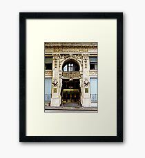 Urban Facade Framed Print